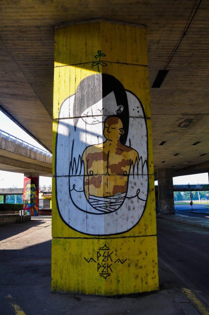Графити, стрит-арт Братиславы