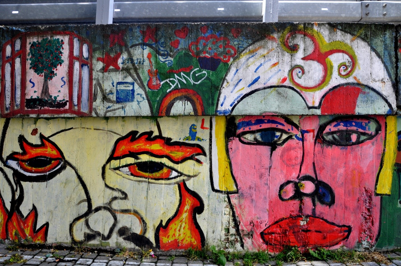 Граффити, стрит-арт Братиславы