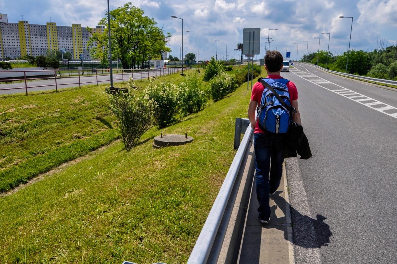 Трасса в Братиславе