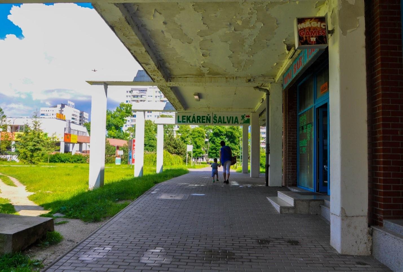Спальный район Братиславы