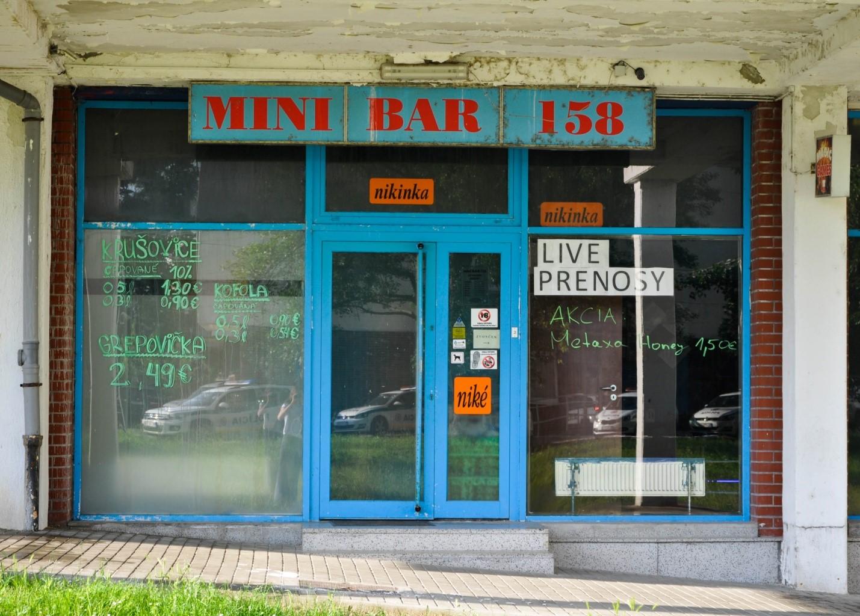Кафе-Бар в спальном районе Братиславы