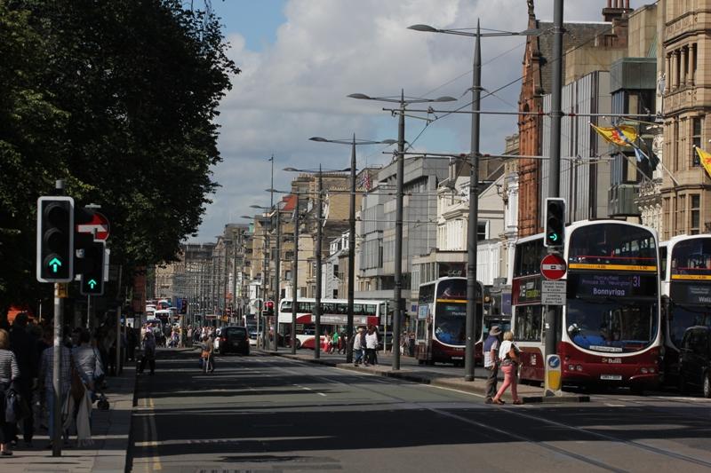 Принсес-Стрит, Эдинбург