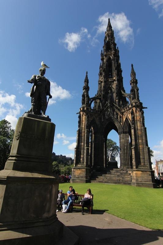 Памятник Вальтеру Скотту, Эдинбург, Шотландия