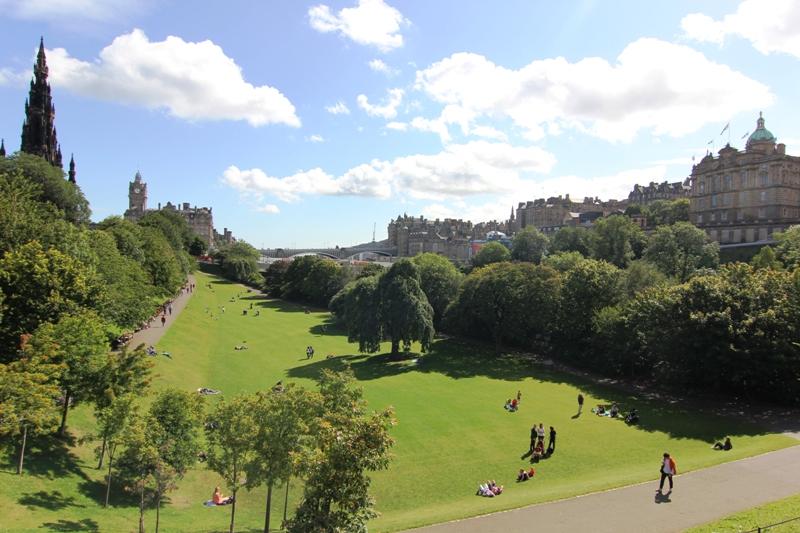 Сад в Эдинбурге
