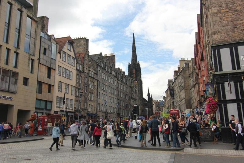 Улица Хай-Стрит, Эдинбург