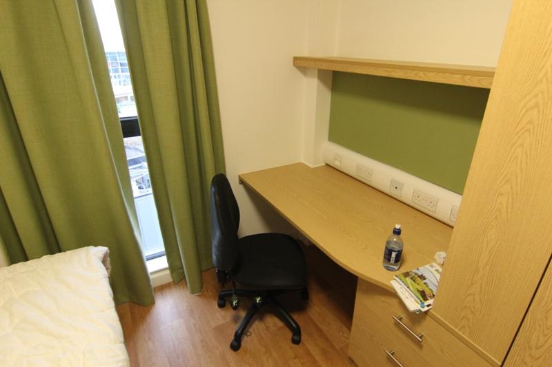 Комната в общежитии Эдинбургского университета