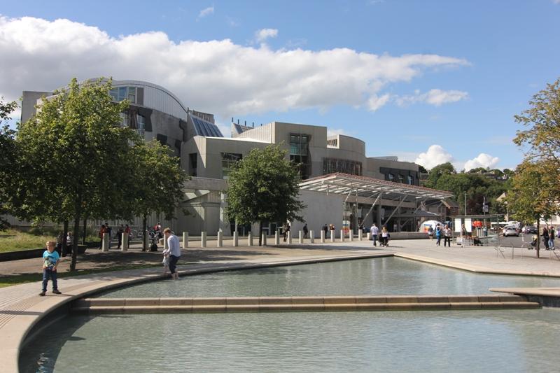 Шотландский парламент, Эдинбург