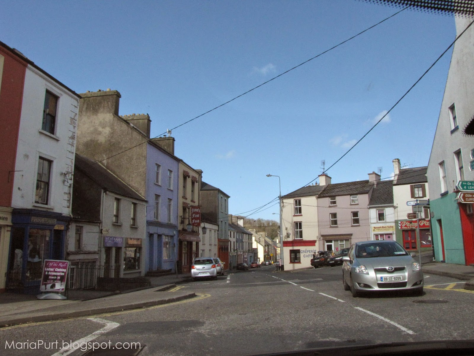 Милый уютный город в Ирландии