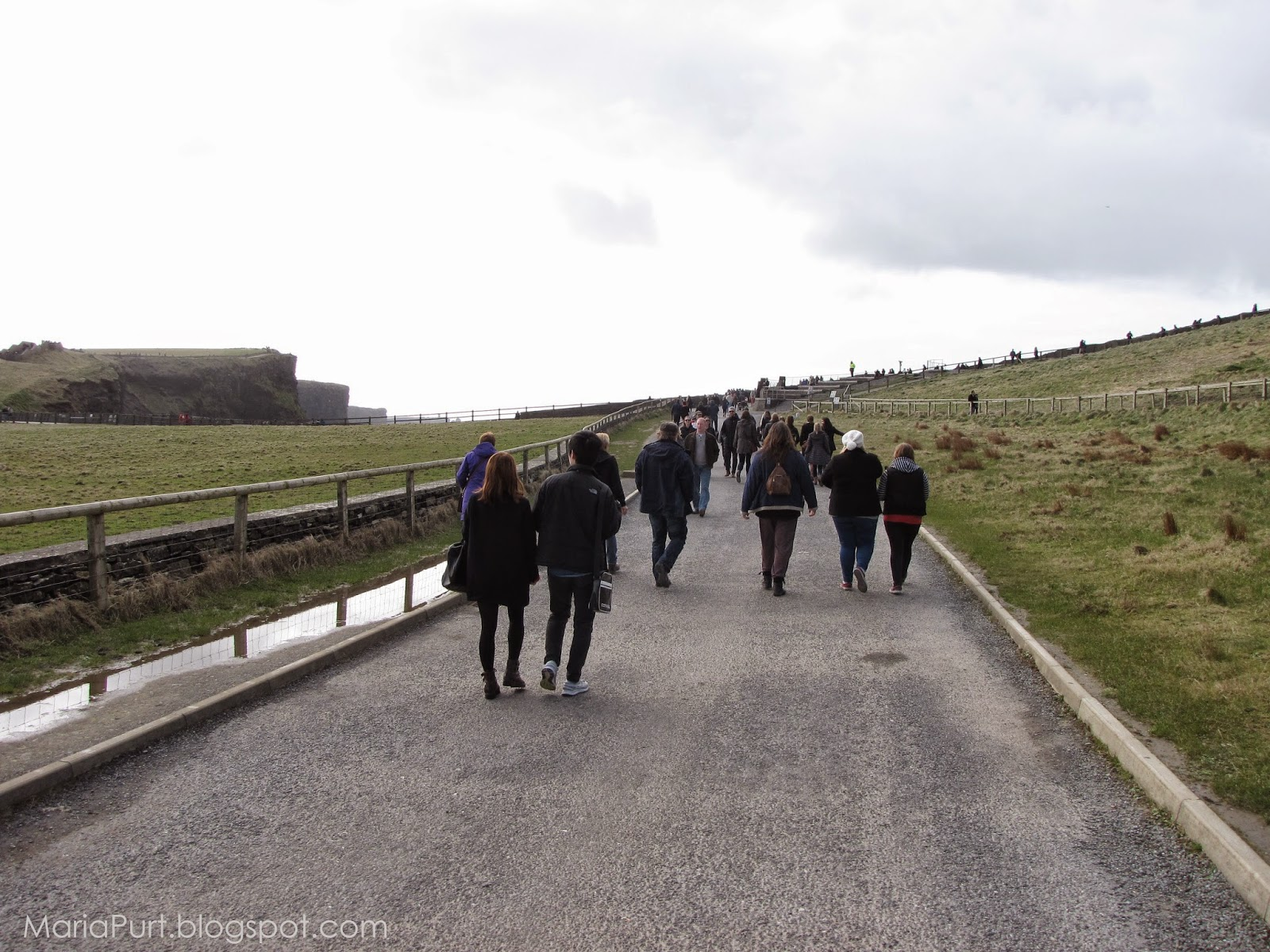 Туристическая дорога к Утесам Мохер, Ирландия