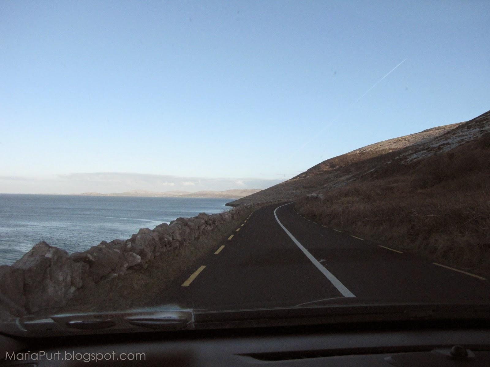 Дорога на краю океана, Ирландия