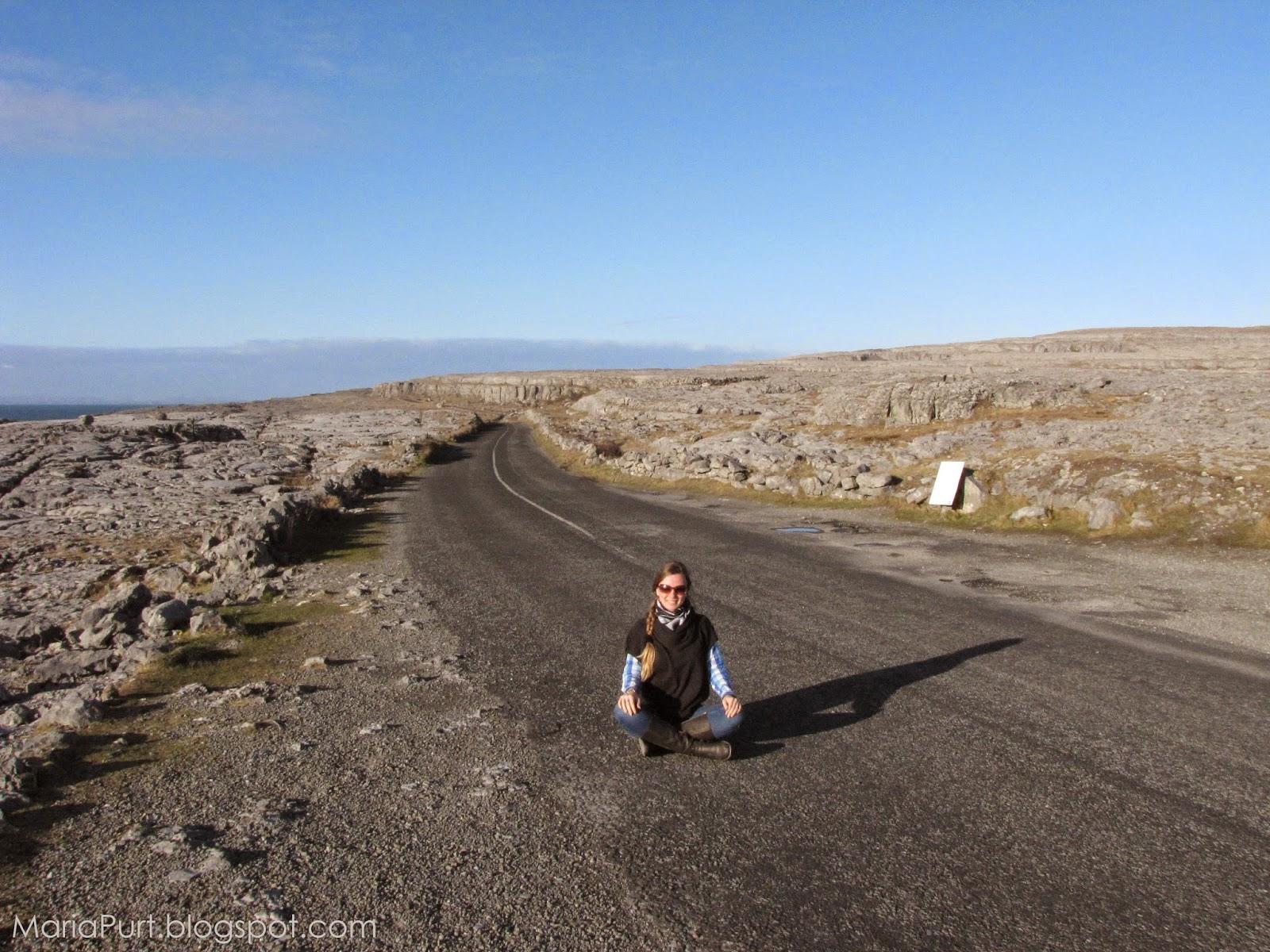 Дорога среди каменной долины, Ирландия