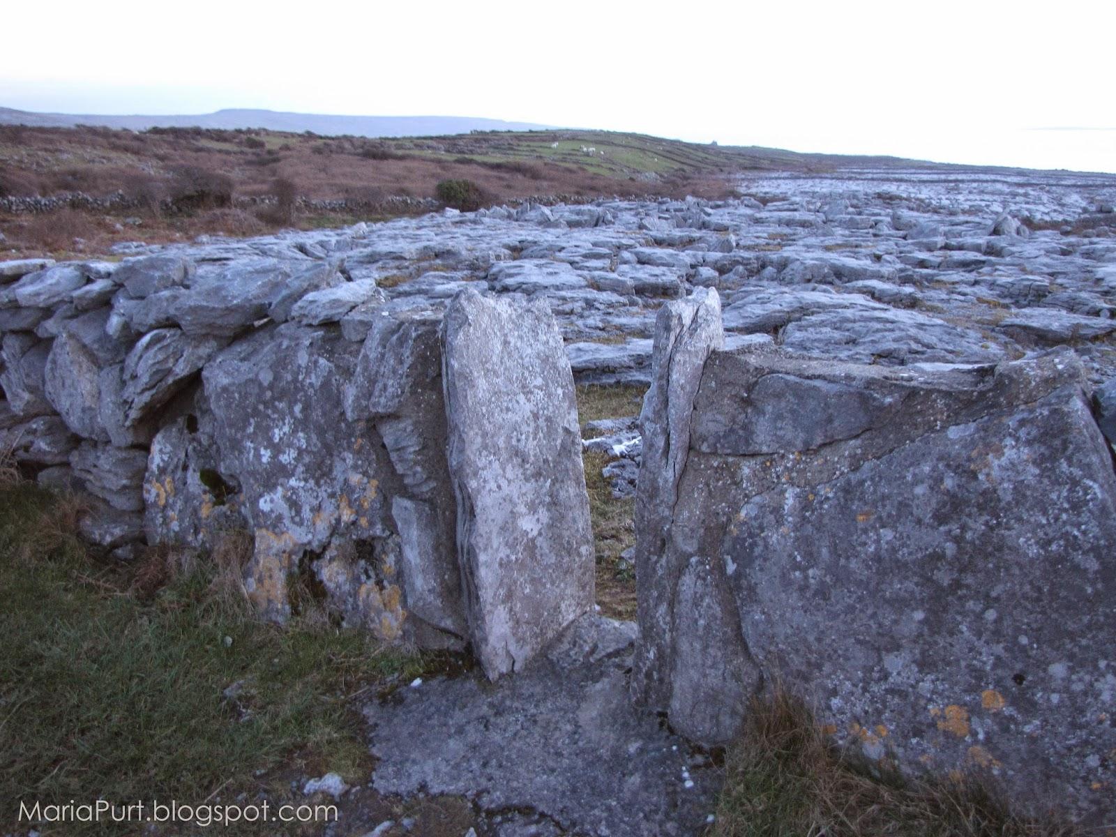 Каменная долина в Ирландии