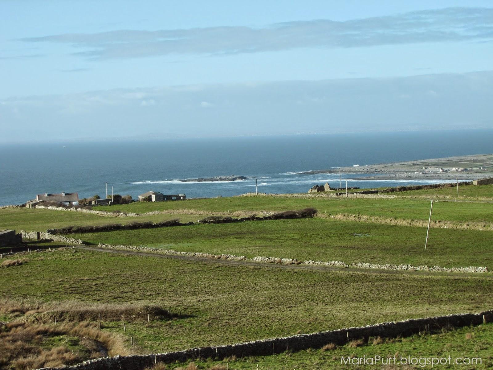 Красивый морской пейзаж Ирландии