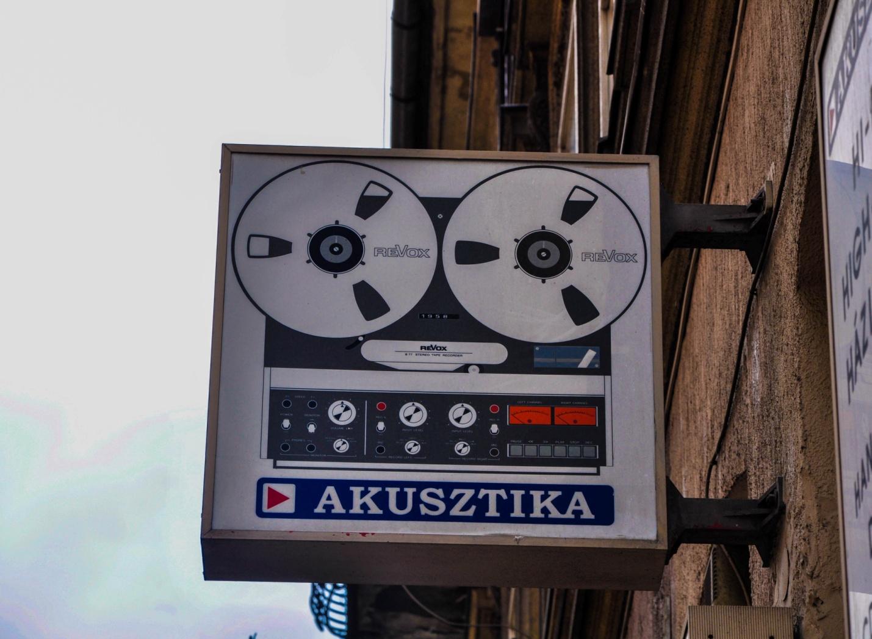Реклама в Будапеште, Венгрия