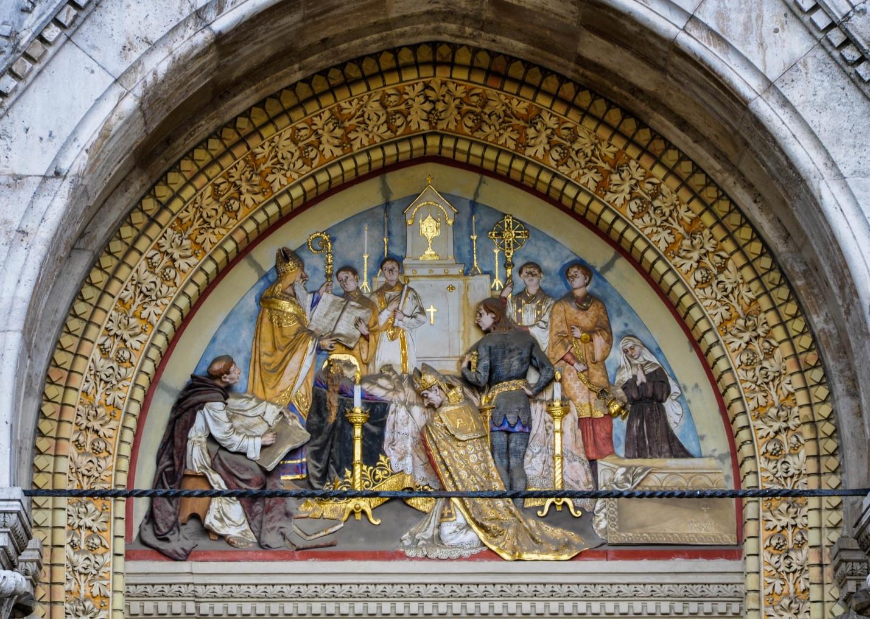 Церковь Святой Елизаветы династии Арпадов в неоготическом стиле, Будапешт, Венгрия