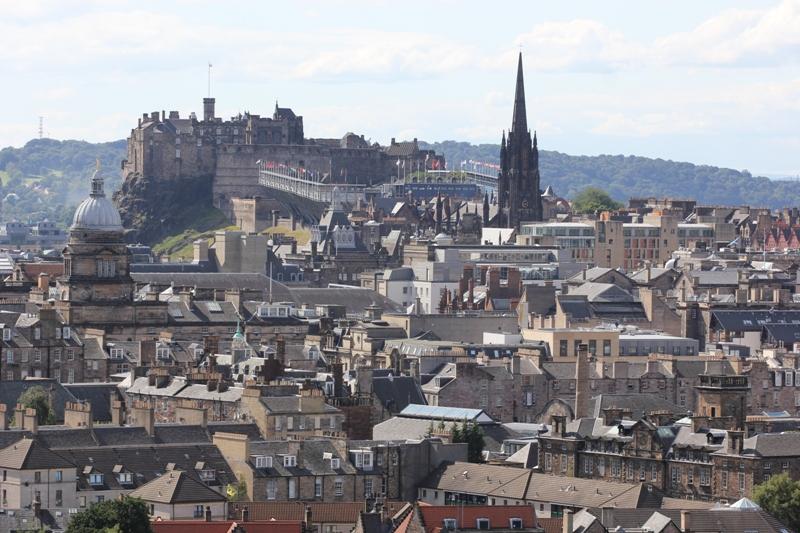 Панорама Эдинбурга