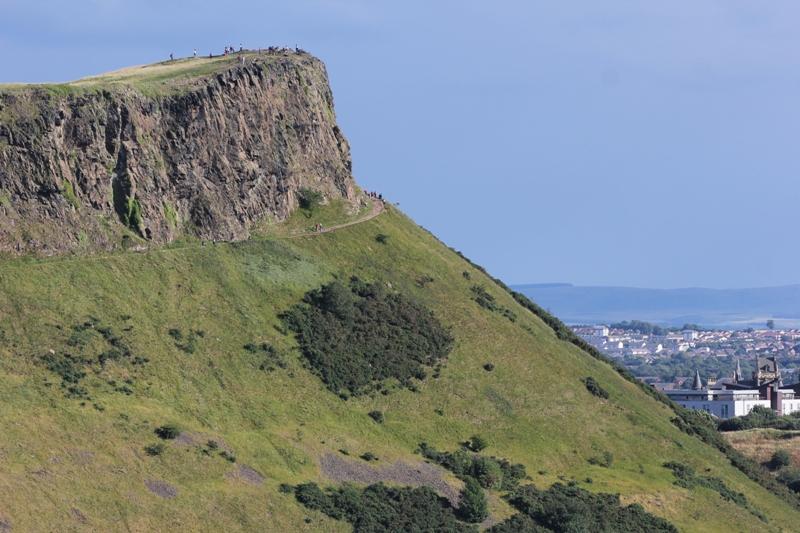 Трон Артура в Эдинбурге, Шотландия