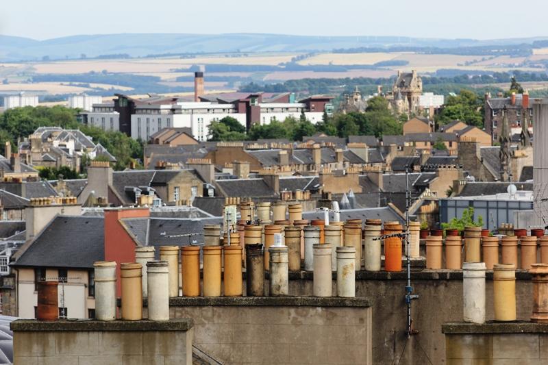 Панорама Эдинбурга, Шотландия