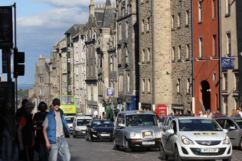 Улица Эдинбурга, Шотландия