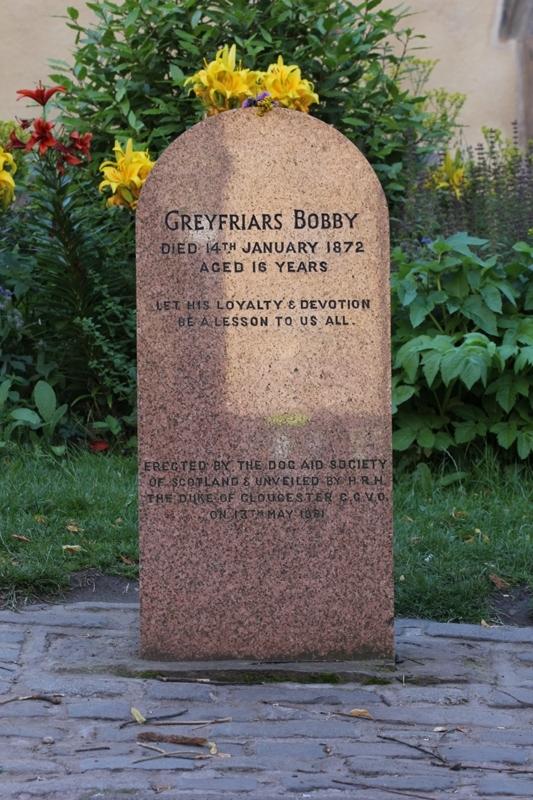 Могила Собаки Бобби, Эдинбург, Шотландия