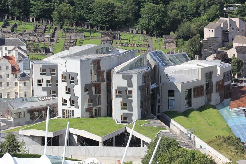 Здание парламента Шотландии, Эдинбург