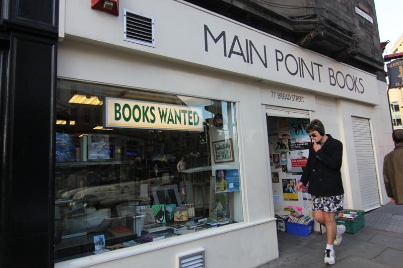 Книжный Сэконд-Хэнд в Эдинбурге, Шотландия