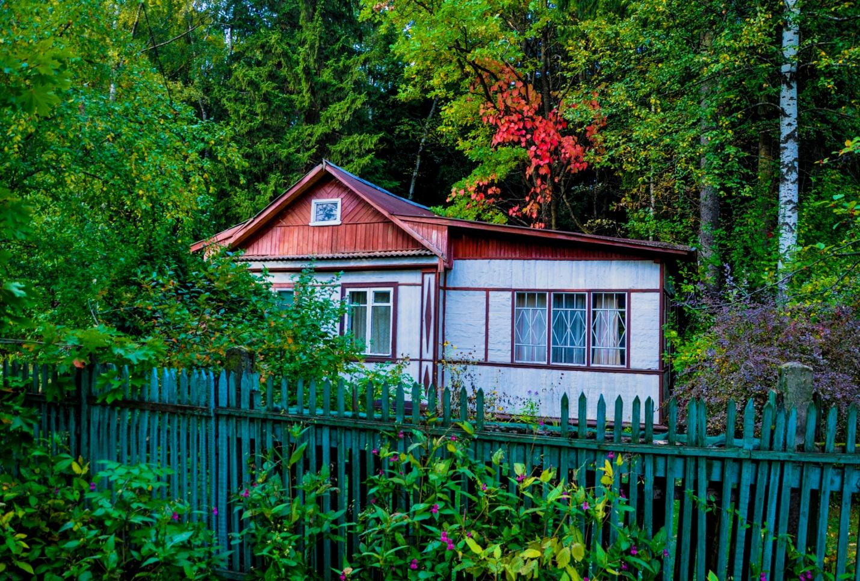 Старый частный дом у леса в Опалихе, Красногорск, Московская область