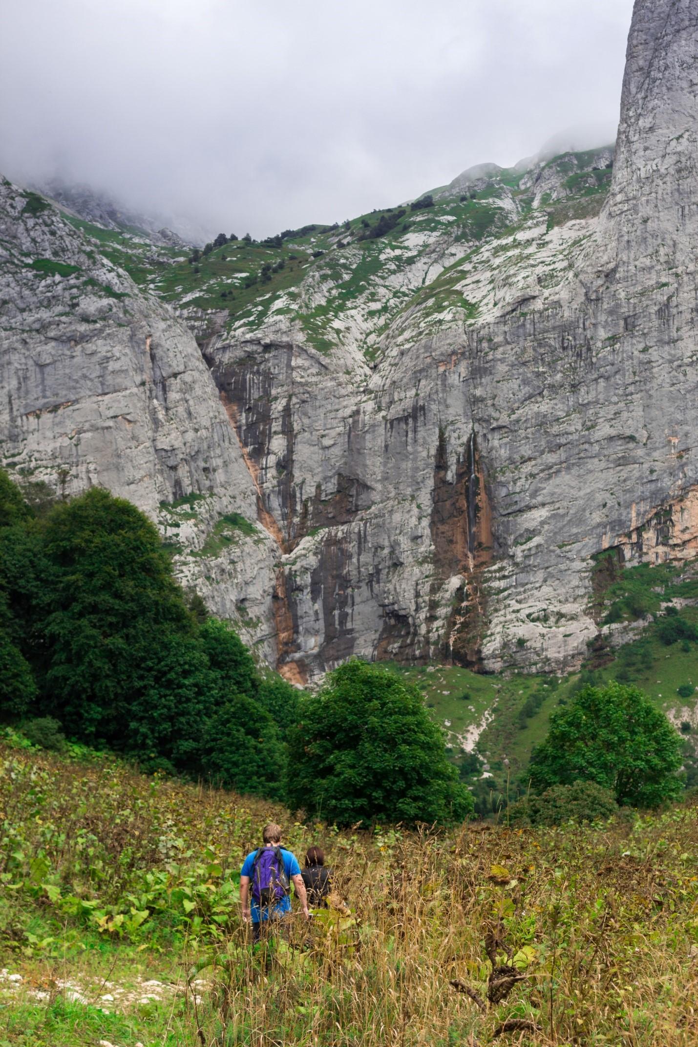 Водопадистый, водопад Фишт, Краснодарский край