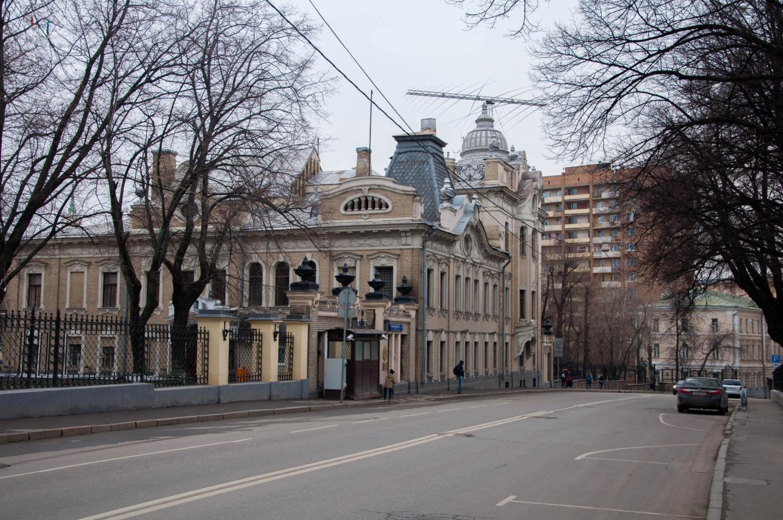 Особняк Бахрушина–Бардыгина, посольство Индии, Москва