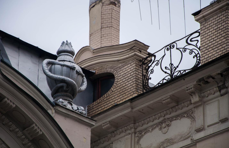 Архитектура Москвы: Особняк Бахрушина–Бардыгина, посольство Индии, дом беседующих змей