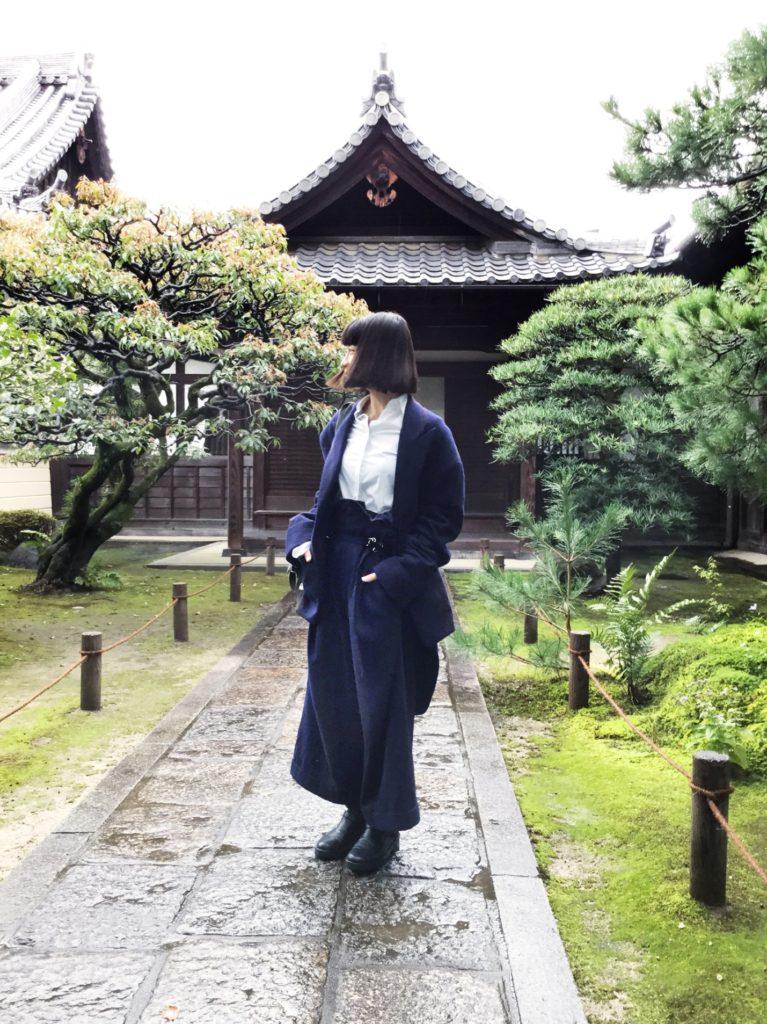 Yohji Yamamoto suit; Alexander Wang shirt; Ann Demeulemeester boots