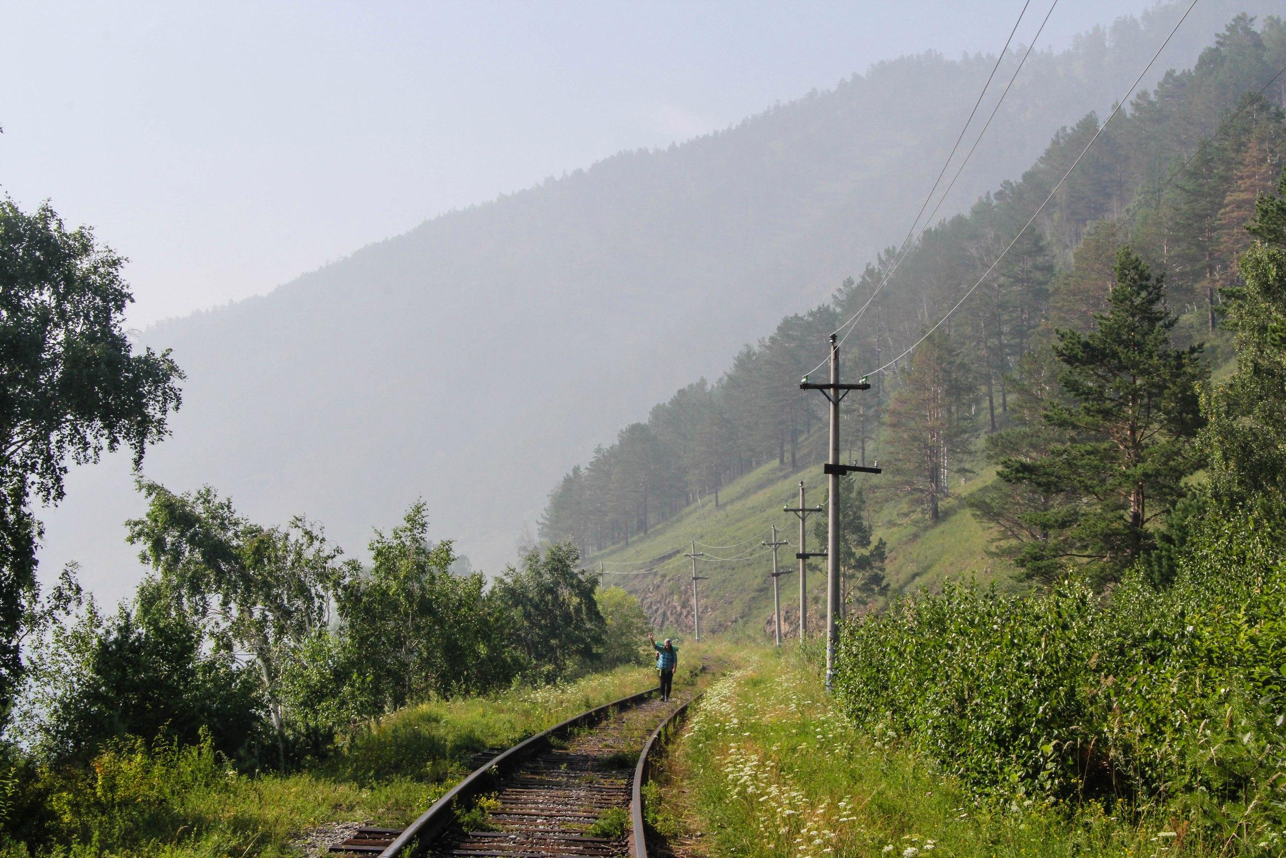 Кругобайкальская Железная Дорога, Байкал