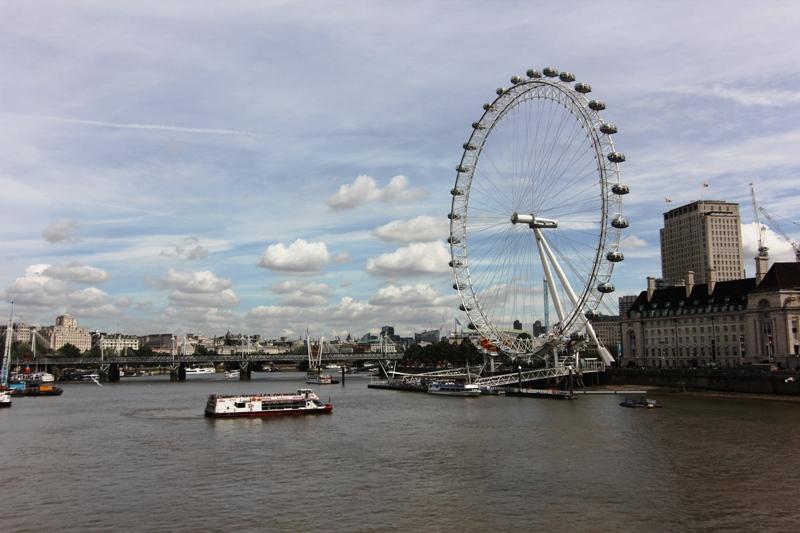 Колесо обозрения London Eye, Лондон