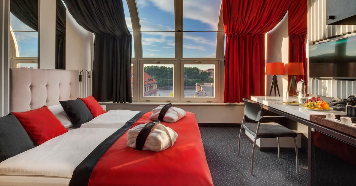 Подборка отелей в Праге
