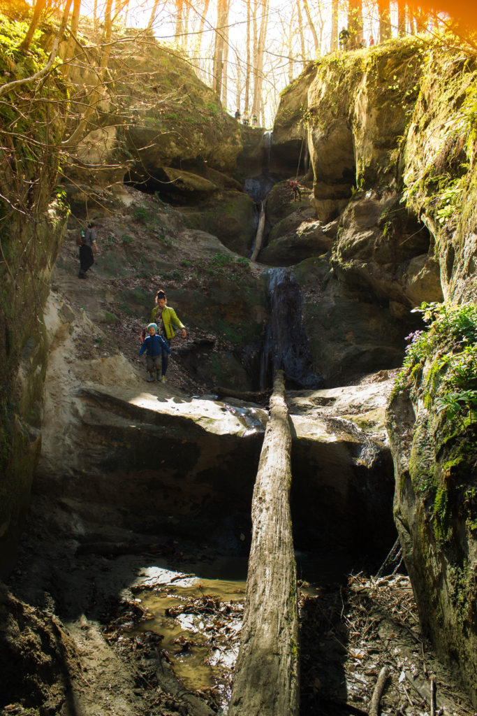 Водопад Пасть Дьявола, Горячий Ключ, Краснодарский край
