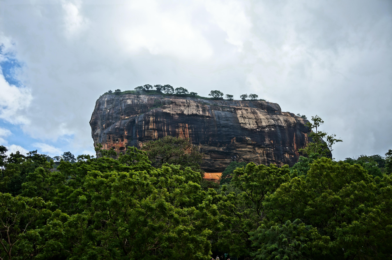 Львиная скала, Сигирия, Цейлон, Шри-Ланка