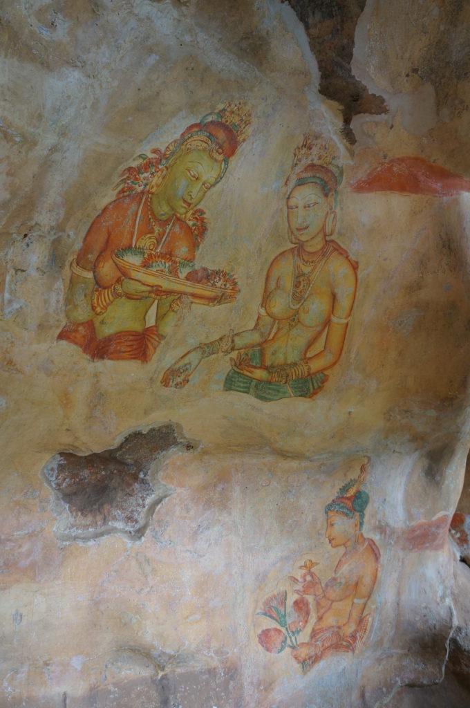 Наскальная древняя живопись, Шри-Ланка, Цейлон
