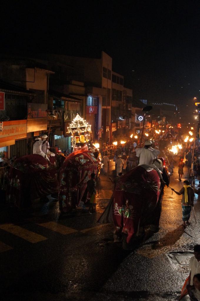 Фестиваль Эсала Перахера в Канди, Шри-Ланка, Цейлон