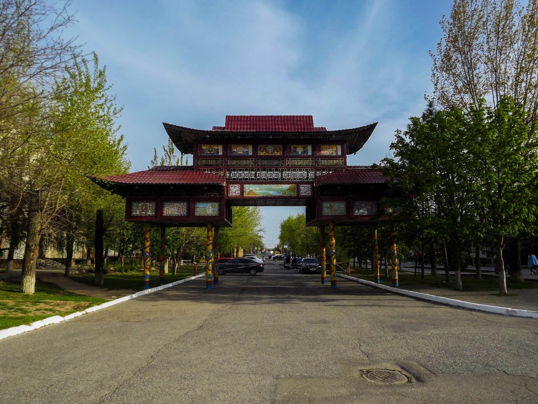 Триумфальная арка в Элисте