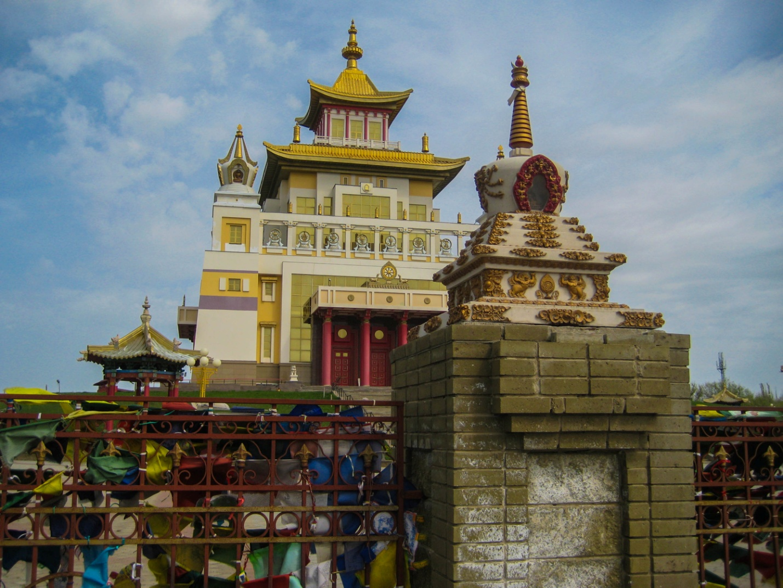 Главный центральный хурул «Золотая обитель Будды Шакьямуни», Элиста