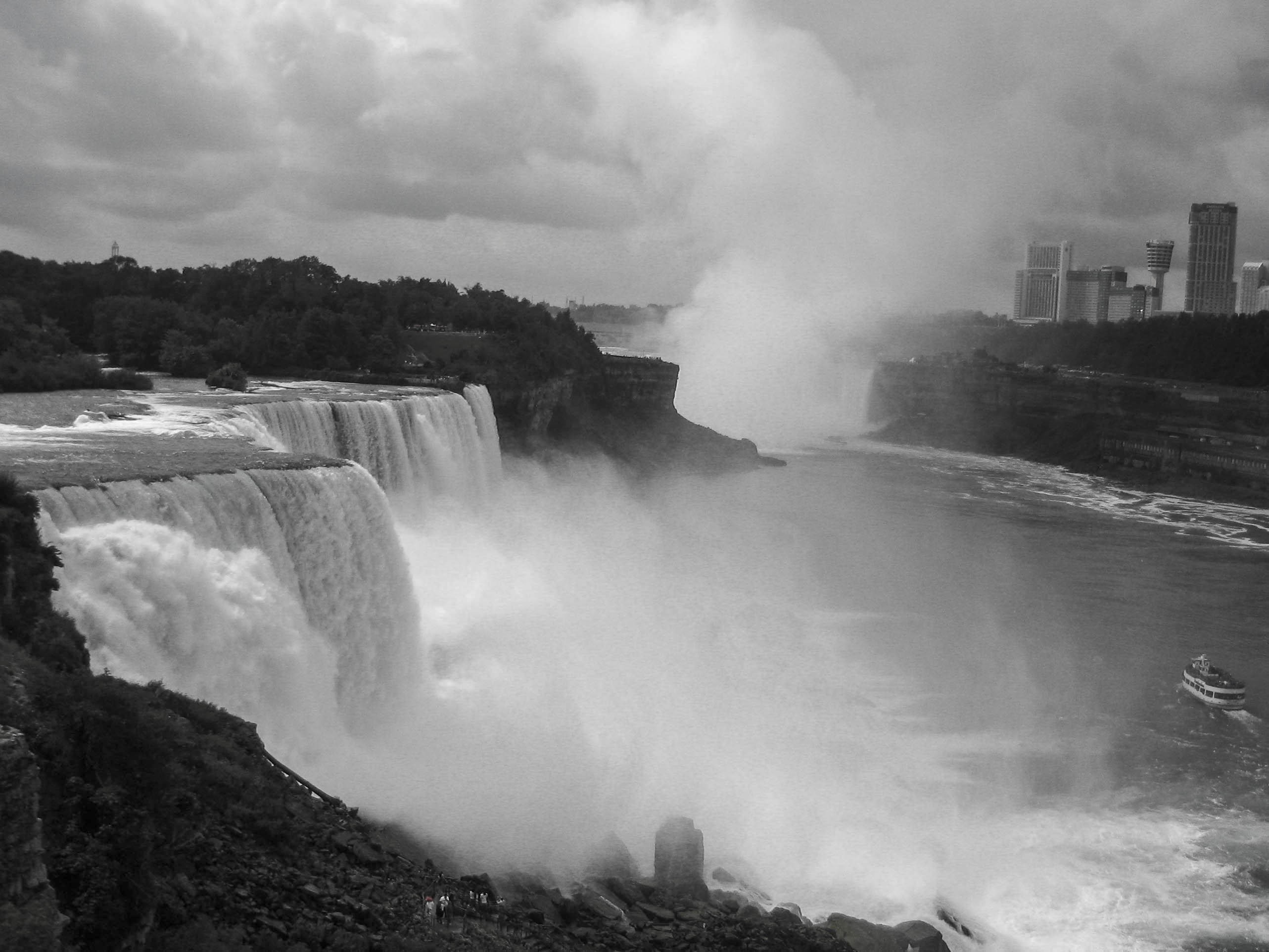Ниагарские водопады, США - Канада