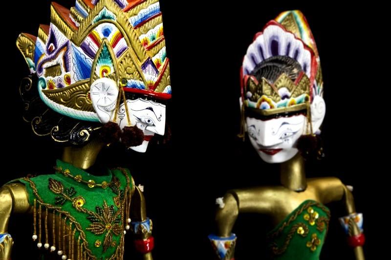 Куклы из театра Ваянг, Ява