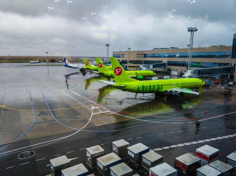 Самолеты S7