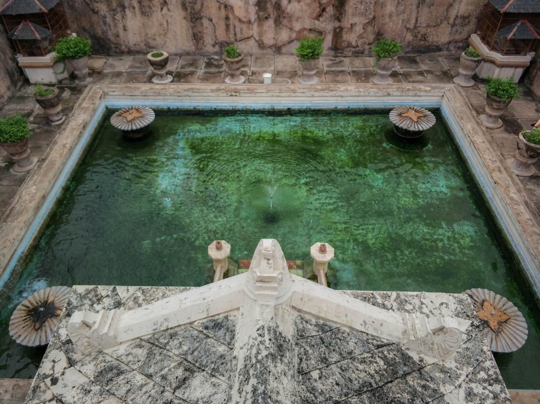 Таман-Сари. Водный дворец на острове Ява