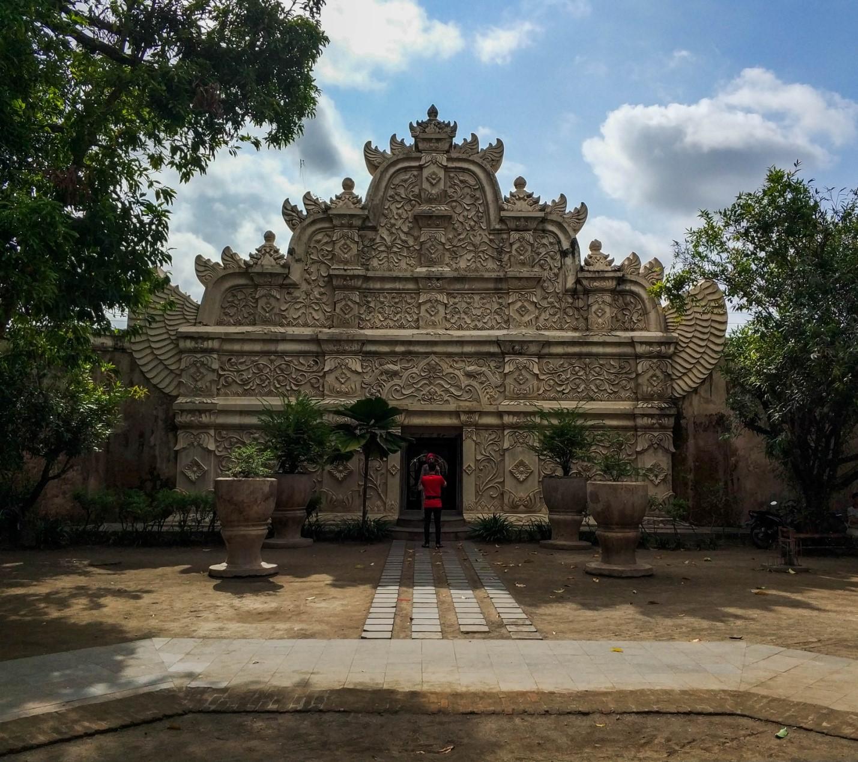 Таман-Сари. Водный дворец на острове Ява. Западные ворота