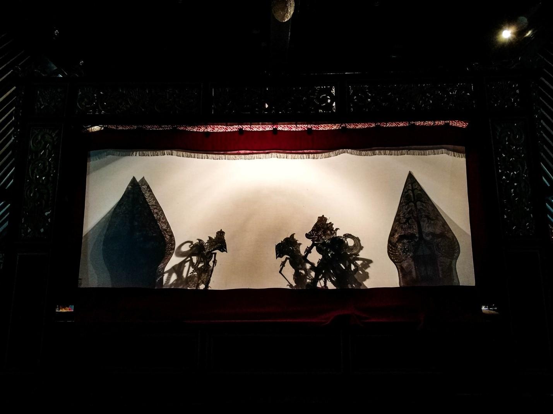 Театр теней на острове Ява