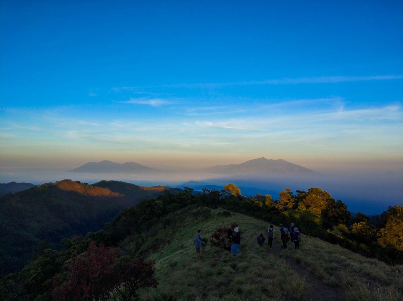Горы на острове Бали