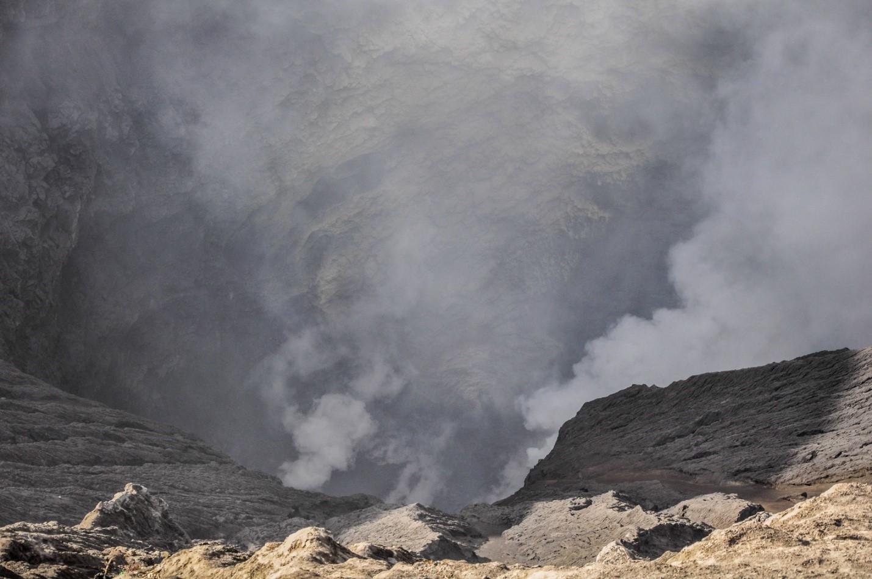 Кратер вулкана Бромо
