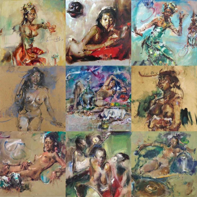 Картины Антонио Бланко