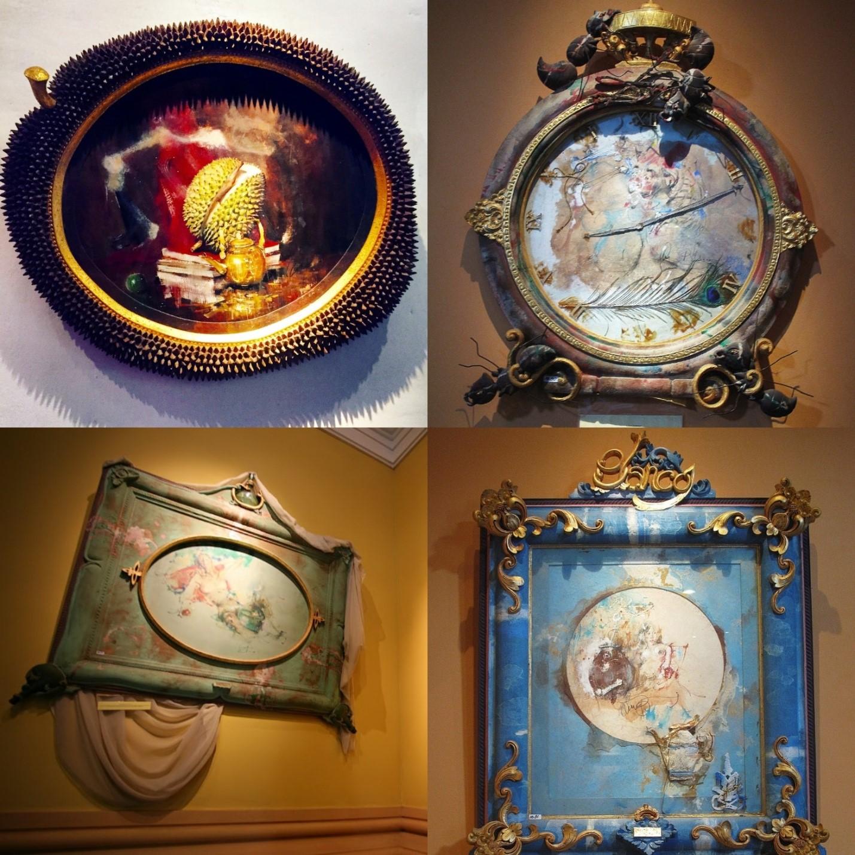 Картины с красивыми рамами Антонио Бланко